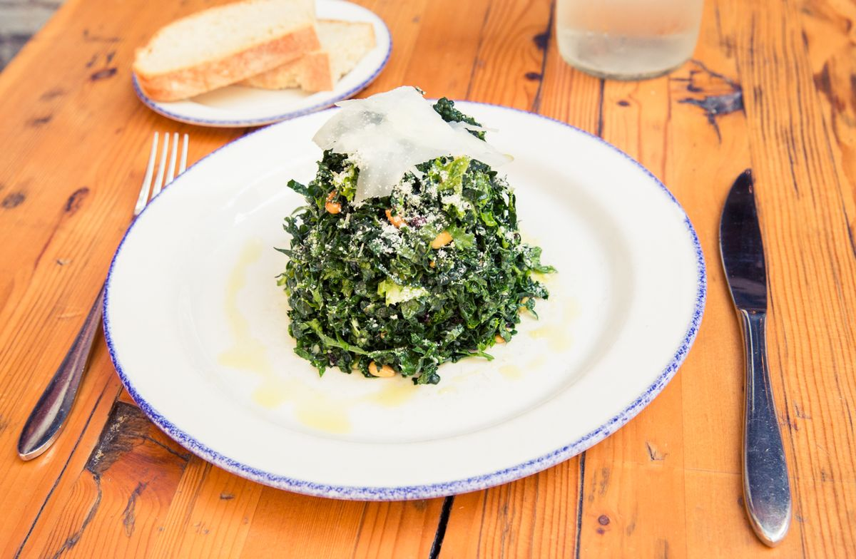 This is Probably the Best. Kale. Salad. Ever.
