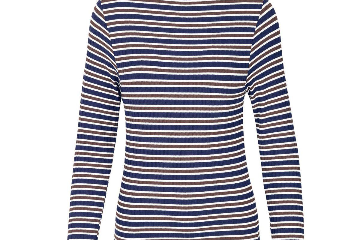 mads norgaard stripe trutte sweater