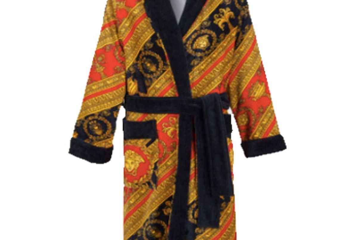 I ♡ Baroque Terry Cloth Bathrobe