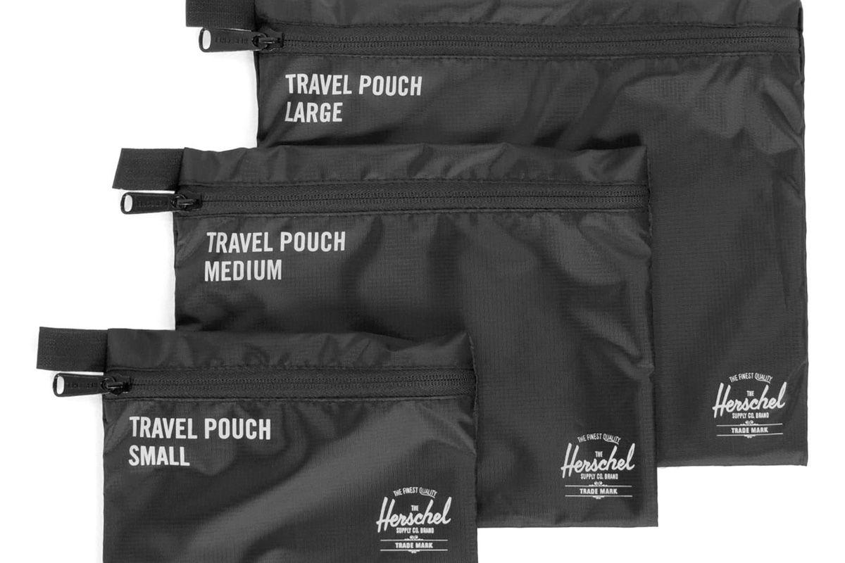 herschel supply co travel pouch