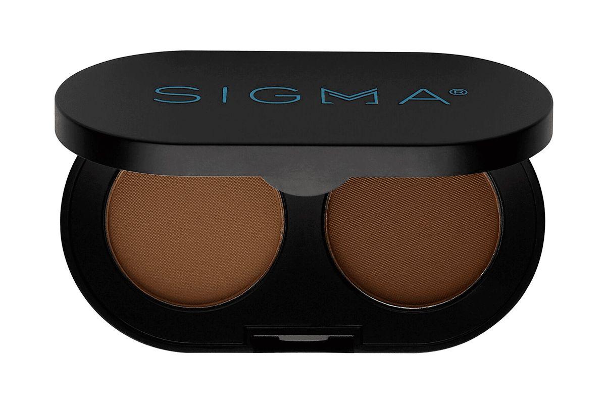 sigma beauty color plus shape brow powder duo
