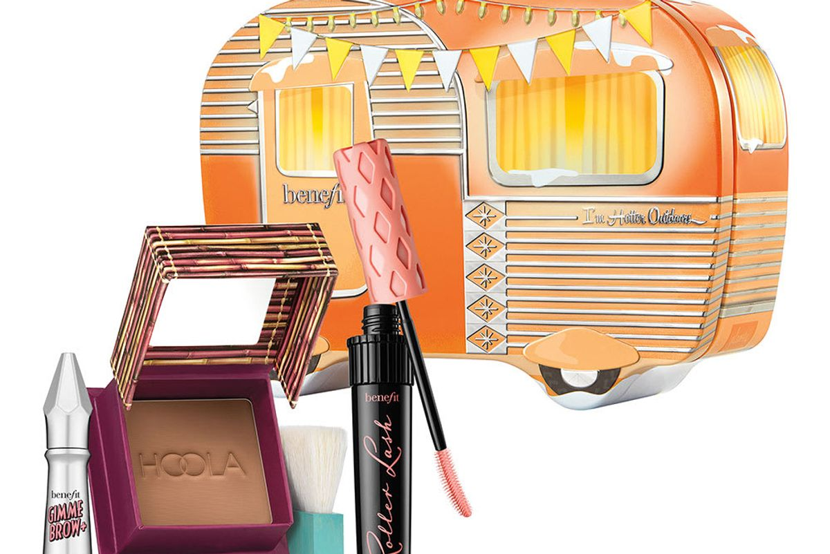 benefit cosmetics im hotter outdoors 3 piece holiday set