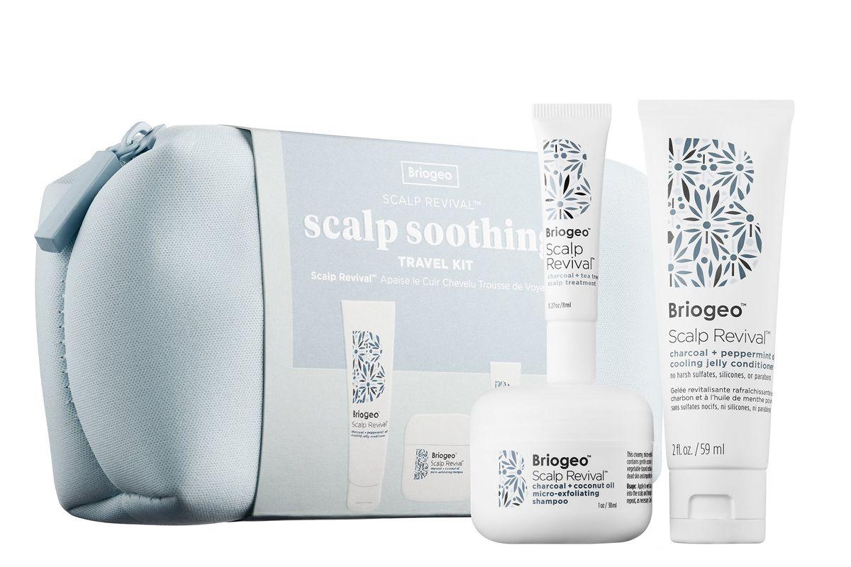 briogeo scalp revival scalp soothing travel kit