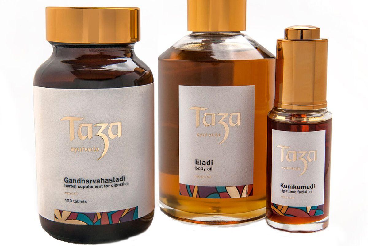 taza ayurveda nourish regimen trio kit