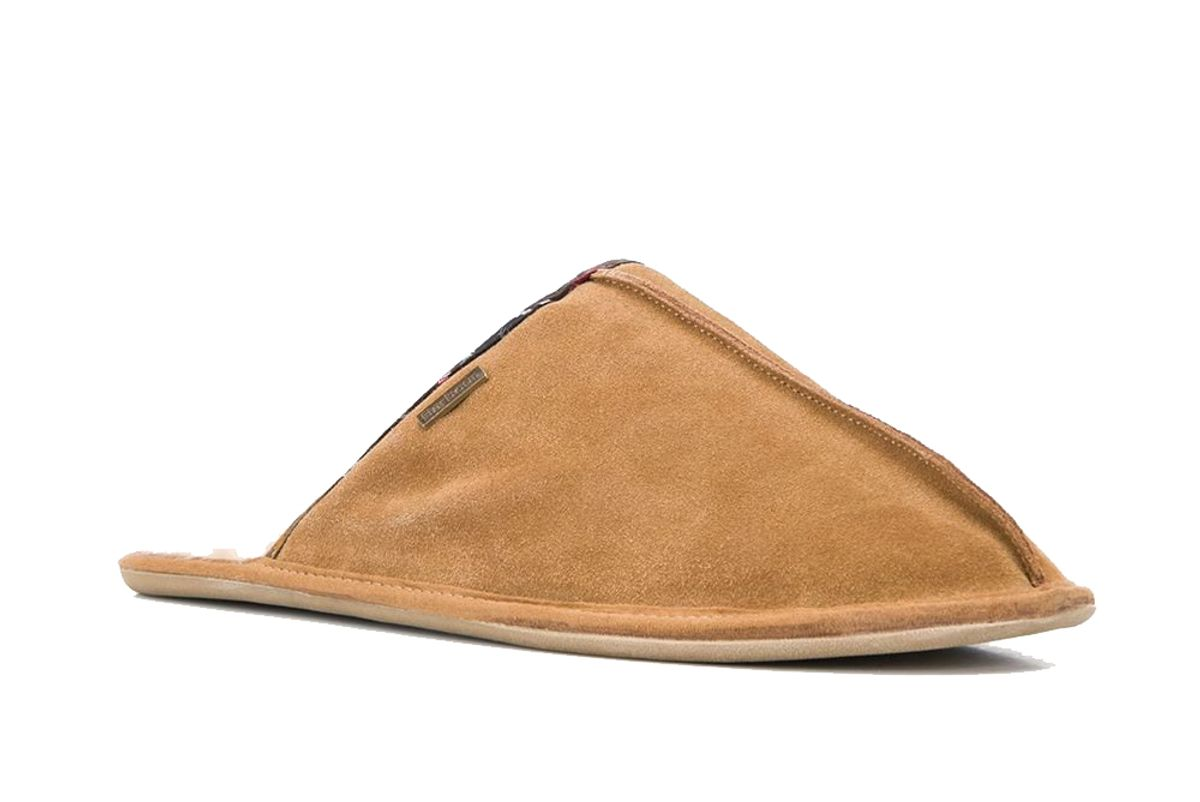 barbour round toe slippers