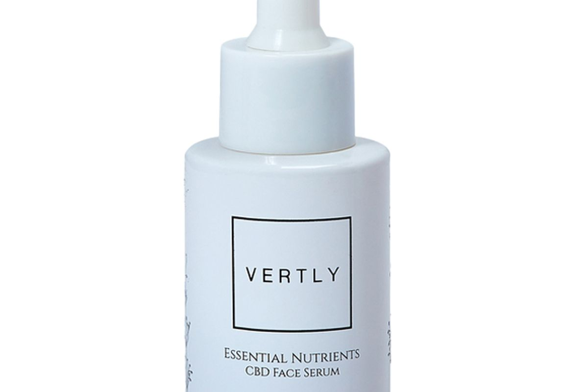 vertly cbd plus botanical extracts face serum