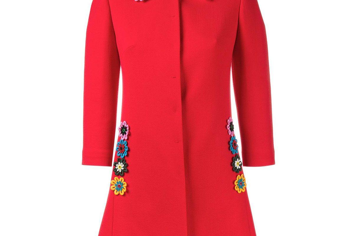 Mason Floral Embellished Coat