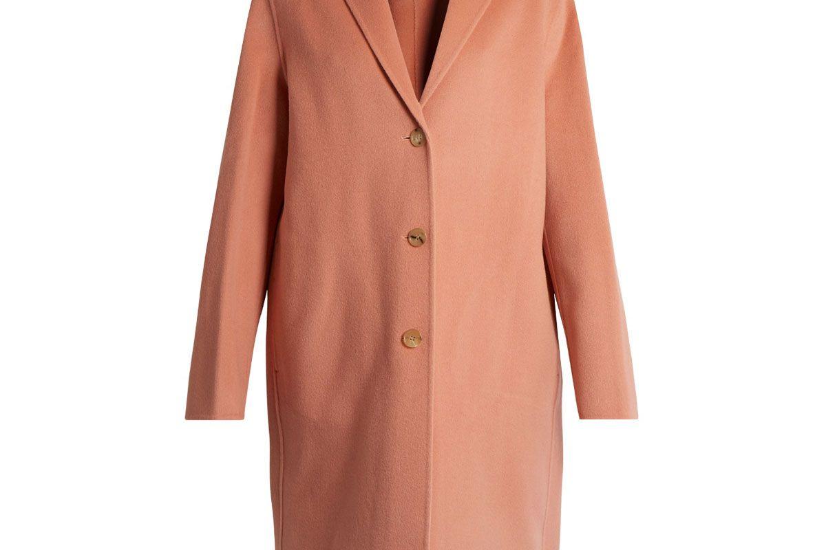 Avalon Doublé Wool-Blend Coat