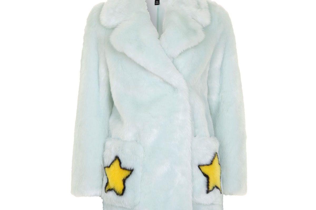 Star Motif Coat