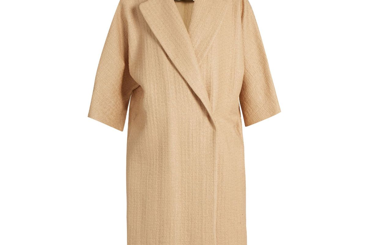 Very Natural Straw-Effect Coat