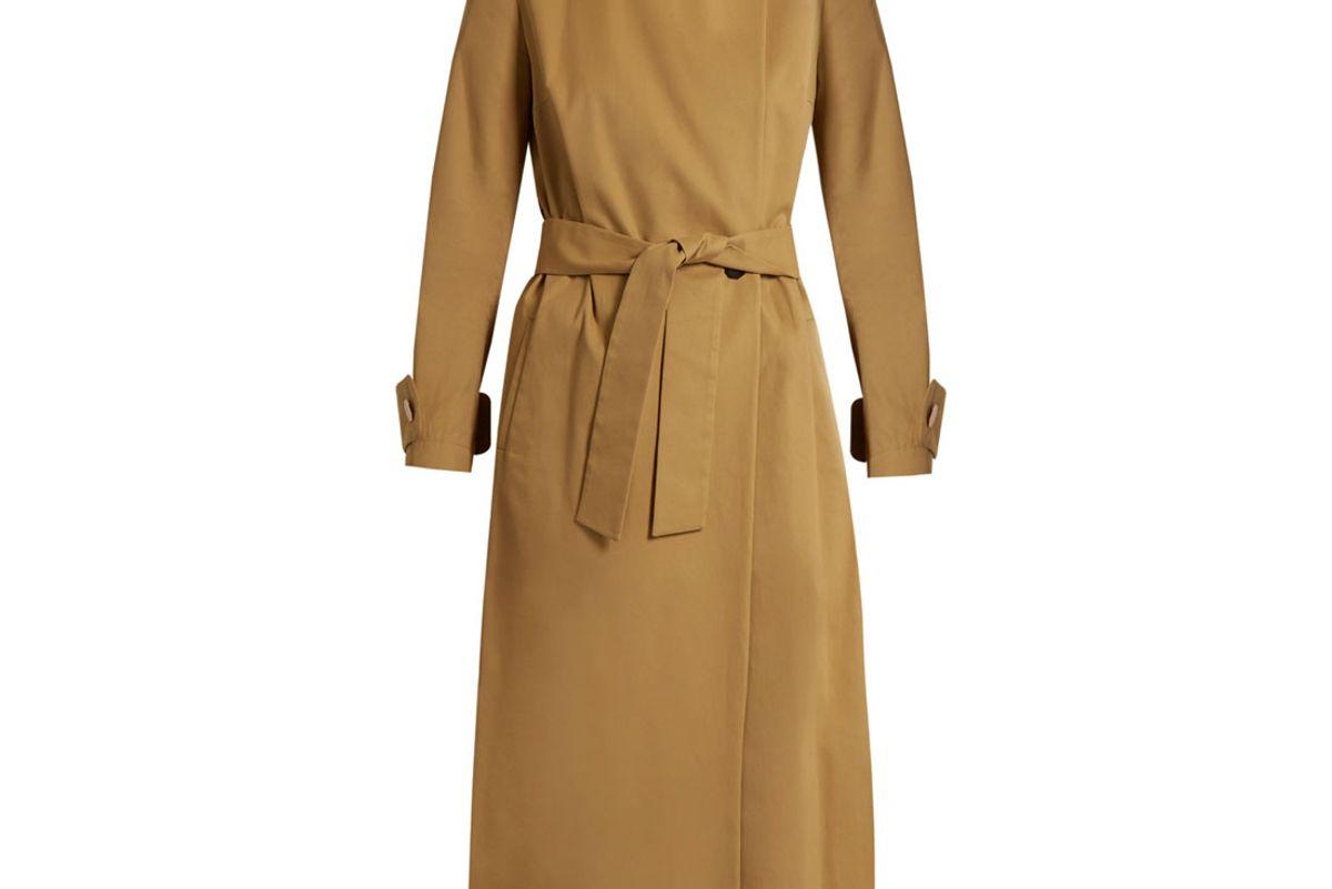 Perfect 5 Nura Cotton-Twill Trench Coat