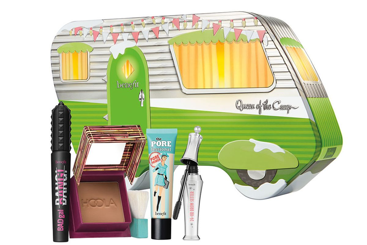 benefit cosmetics queen of the Camp set limited edition 4 piece holiday set