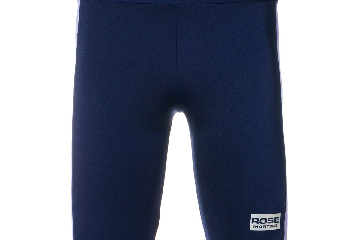 martine rose side panel cycling shorts