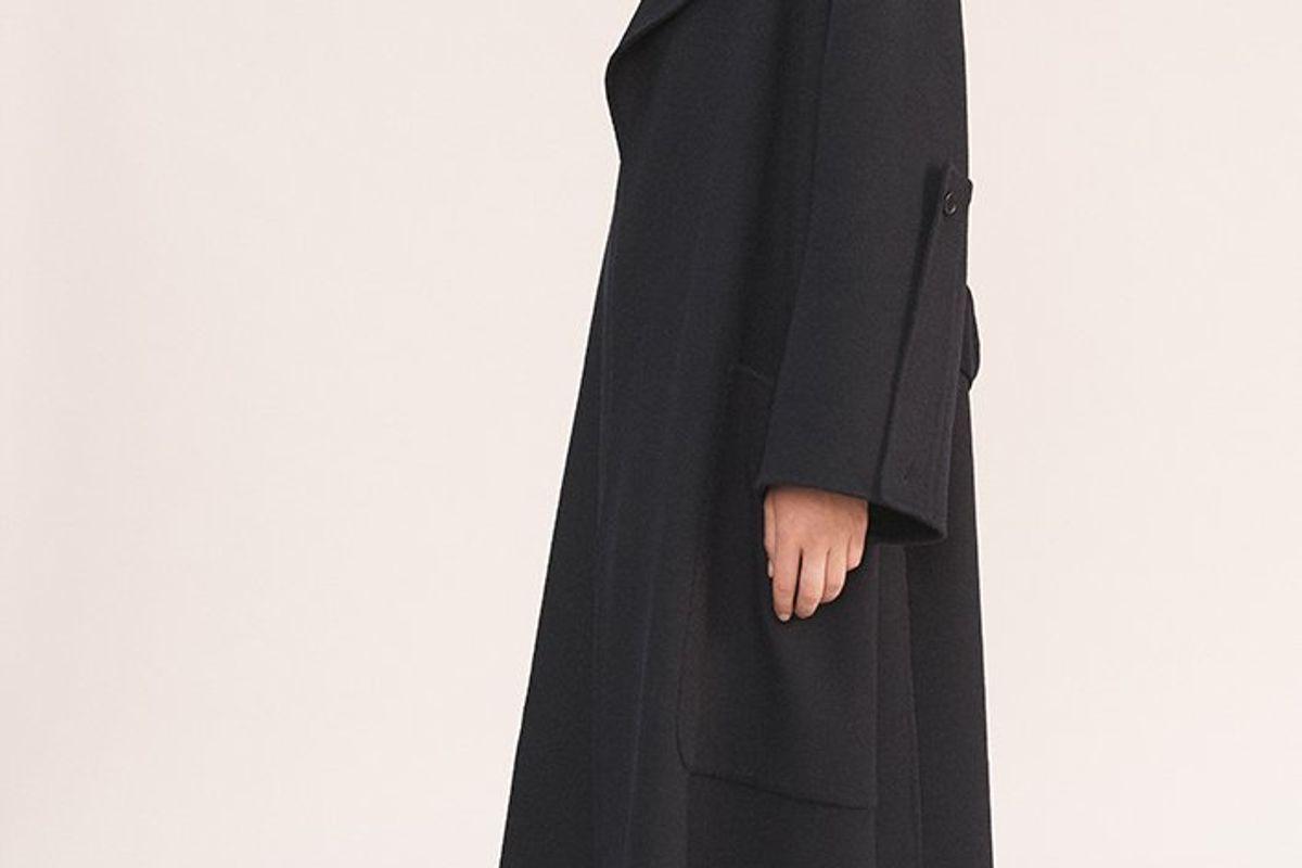 The Stella Double Face Cashmere Coat