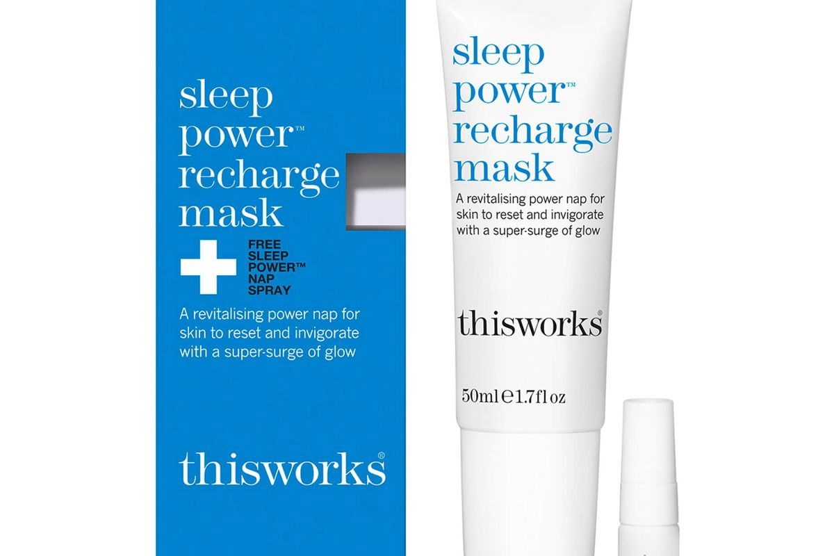 this works sleep power recharge mask