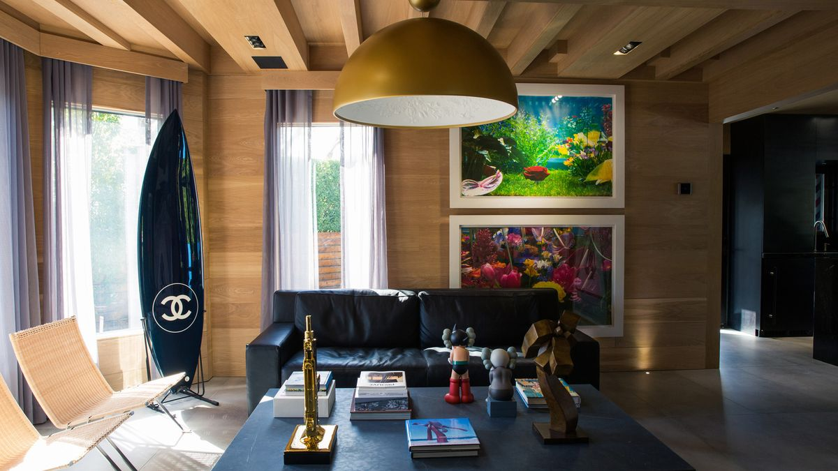 This Hamptons Home Is Decorated with a Basquiat and a Supreme Punching Bag
