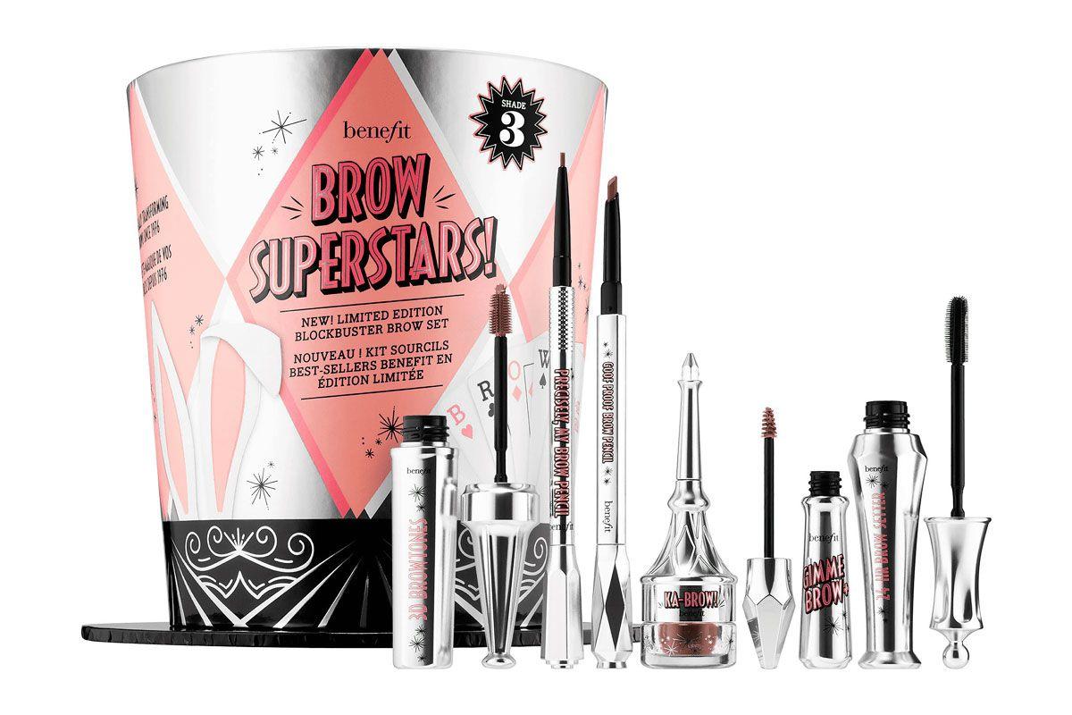 benefit cosmetics brow superstars value set