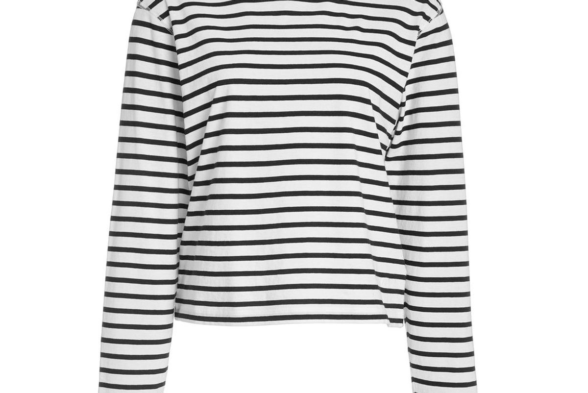 atm anthony thomas melillo classic striped cotton jersey t-shirt