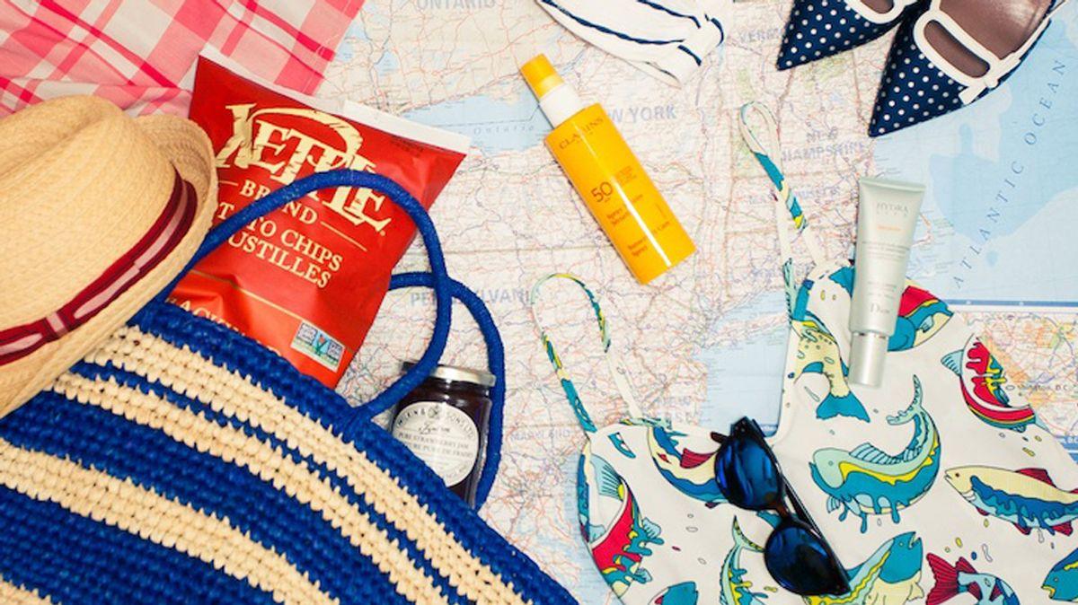 stylish road trip