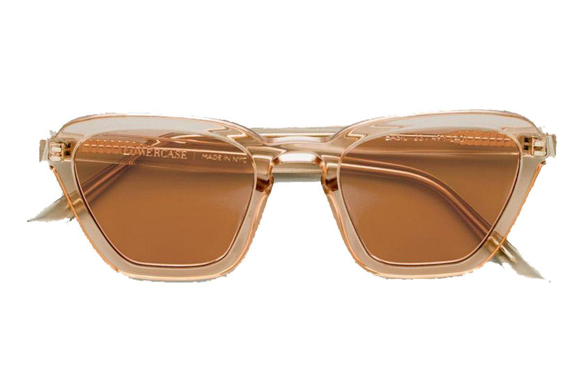 lowercase basil sunglasses