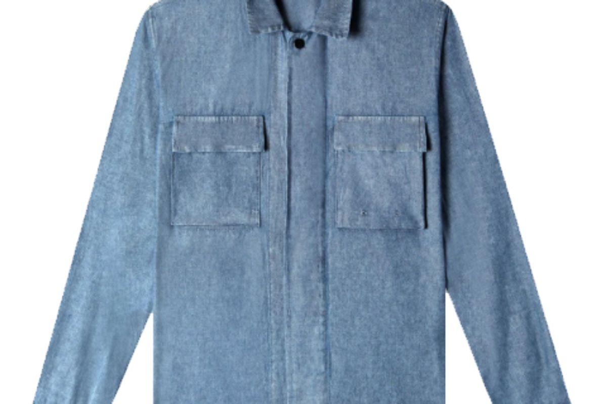 quaker marine supply utility shirt jacket