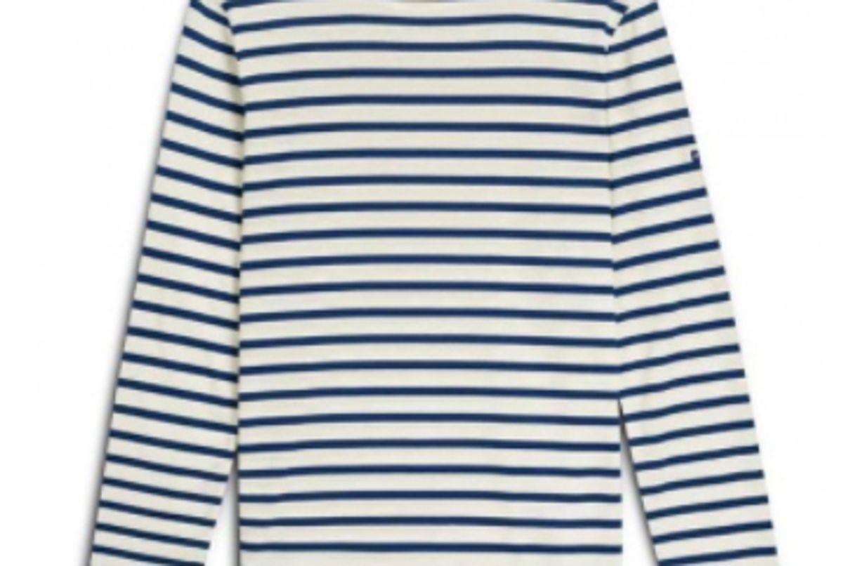 saint james minquiers moderne authentic breton stripe shirt