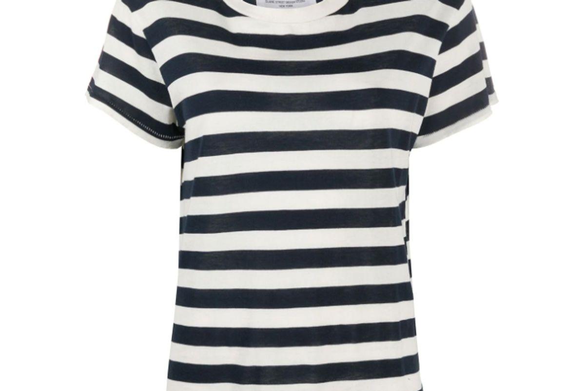 nili lotan brady striped t-shirt