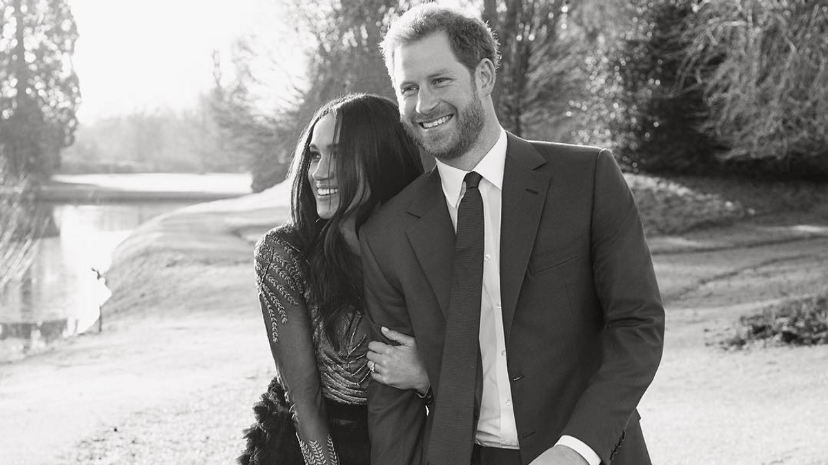 Meghan Markle's Engagement Photo Dress Is Actually $75,000