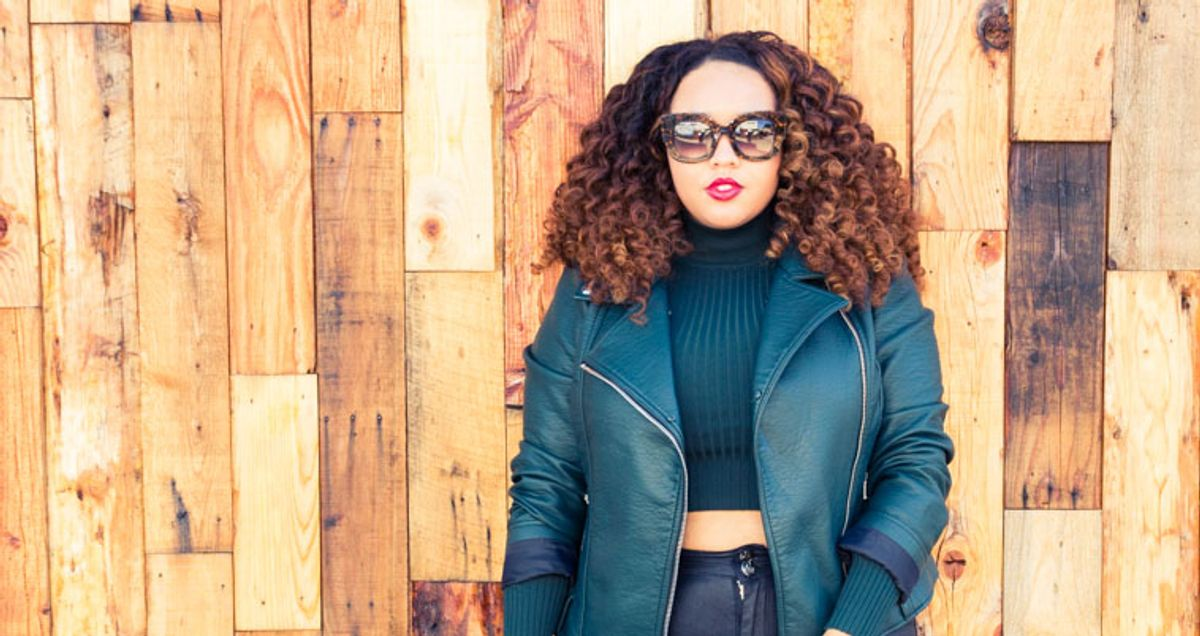 The Blogger Saying 'Eff That' to Plus Size Fashion Rules