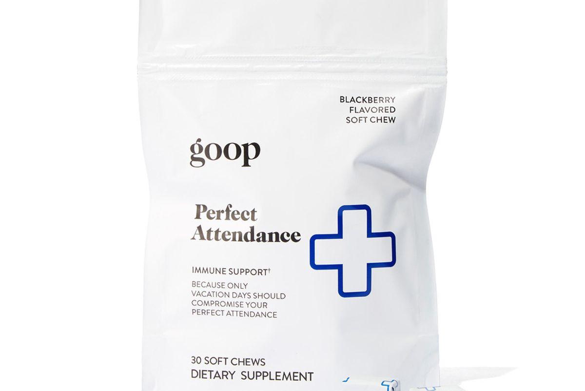 goop perfect attendance