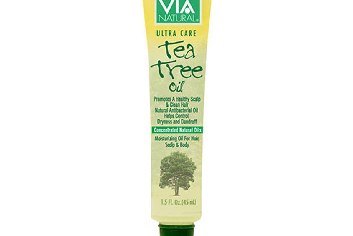 via natural ultra care hair scalp body tea tree oil