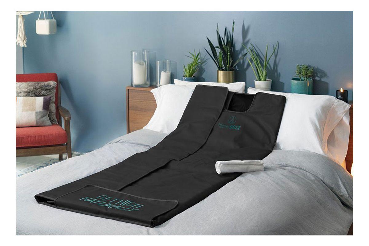 higher does infrared sauna blanket v3
