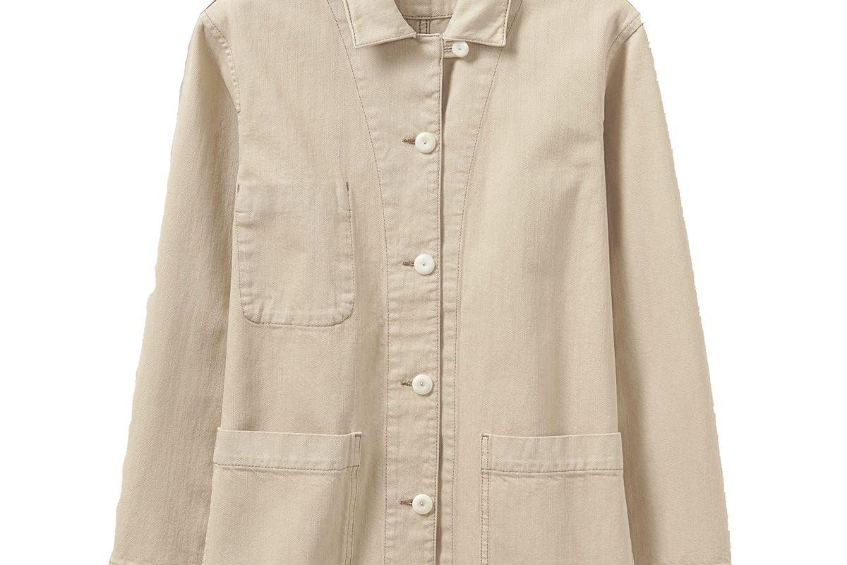 toast organic cotton denim jacket