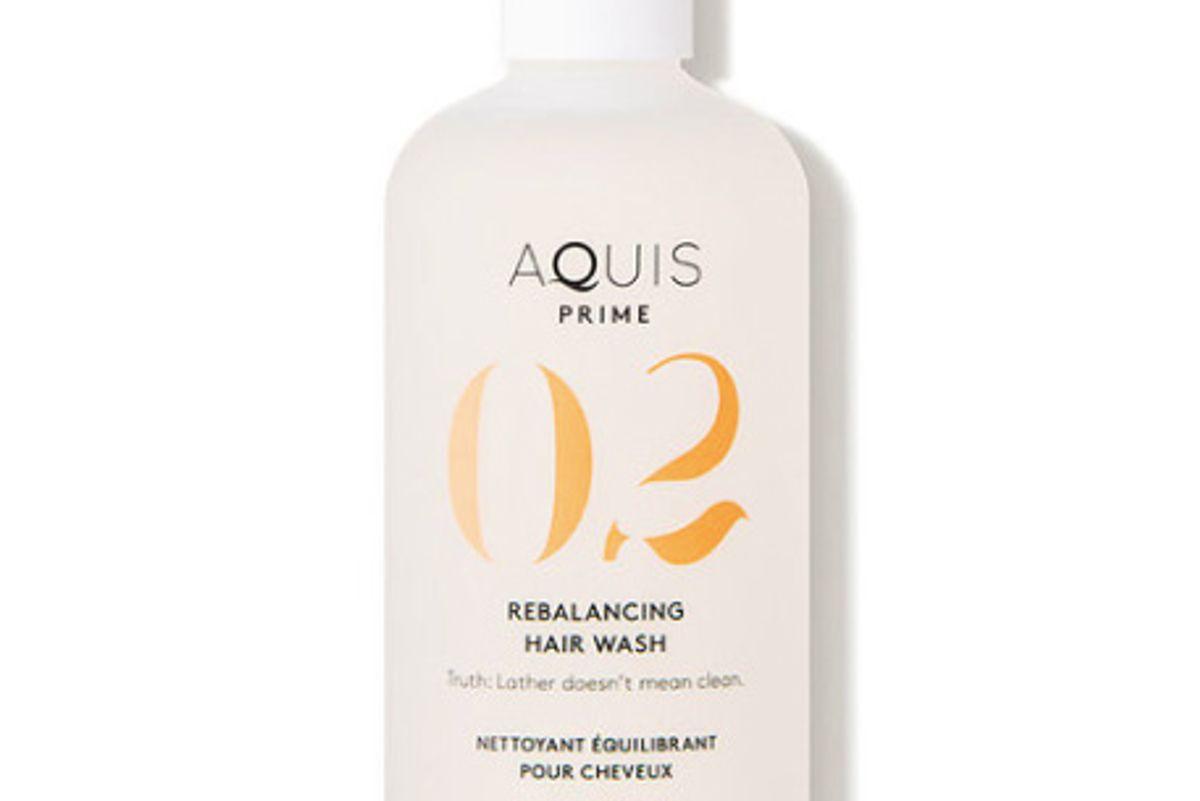 aquis 02 prime balancing hair wash