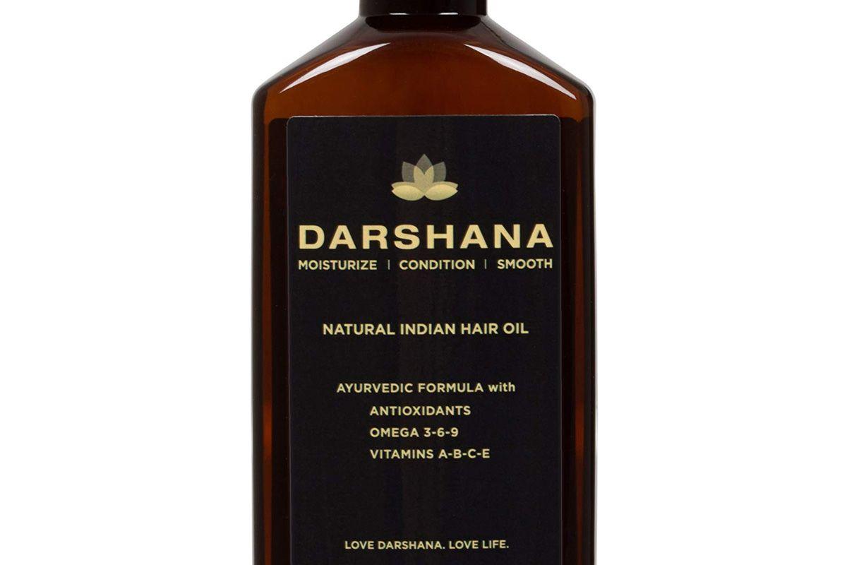 darshana natural indian hair oil with ayurvedic botanicals