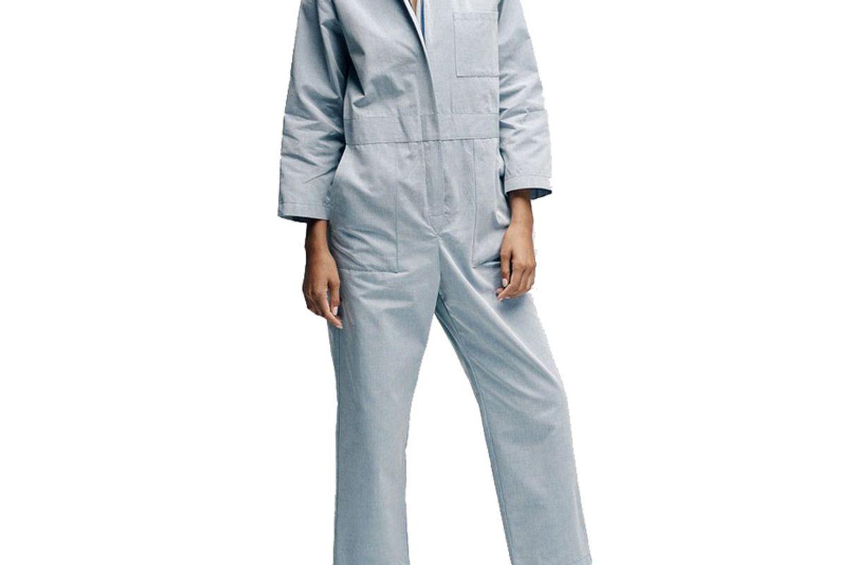 Cropped Zip Combinaison Jumpsuit