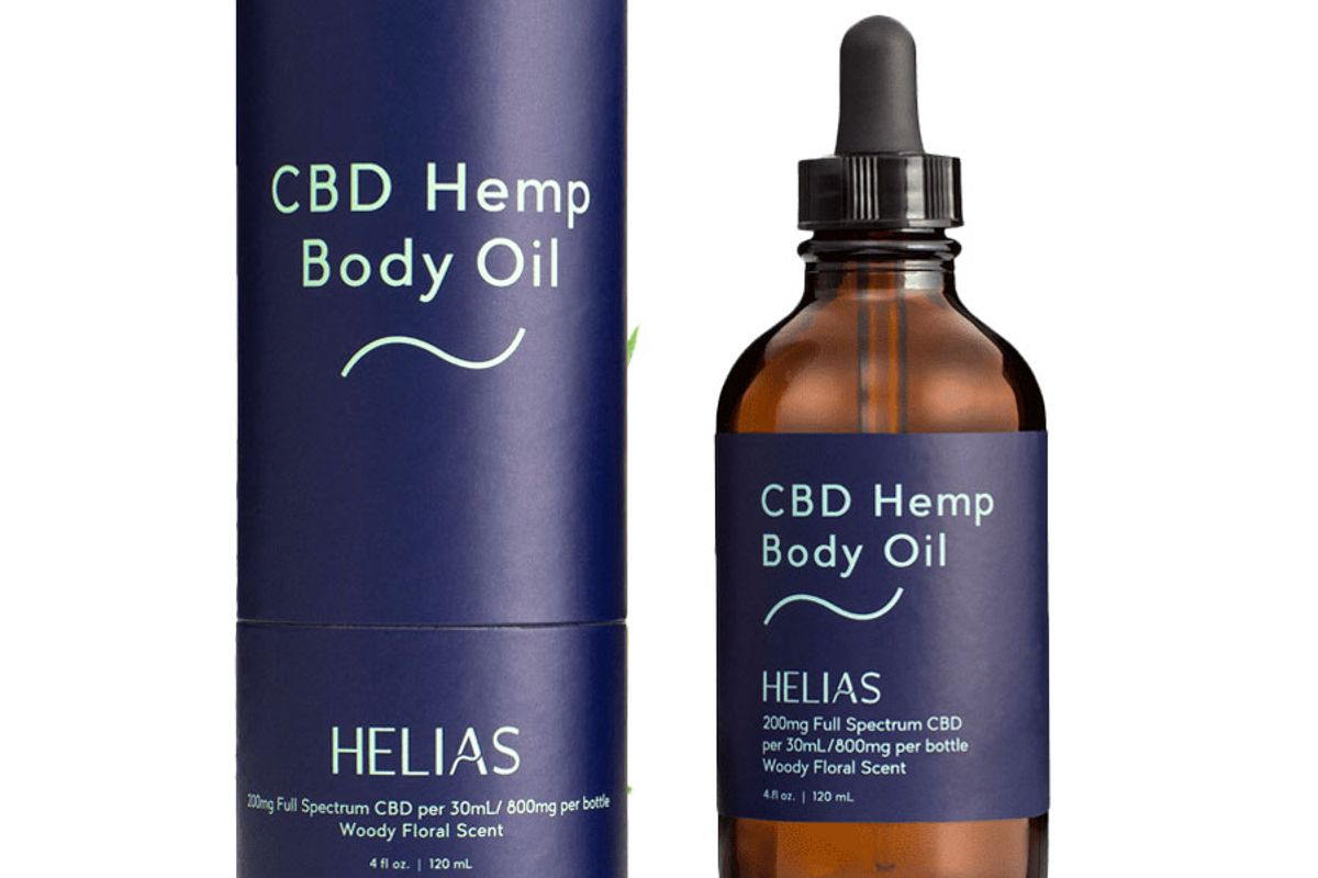 helias full spectrum cbd hemp body oil