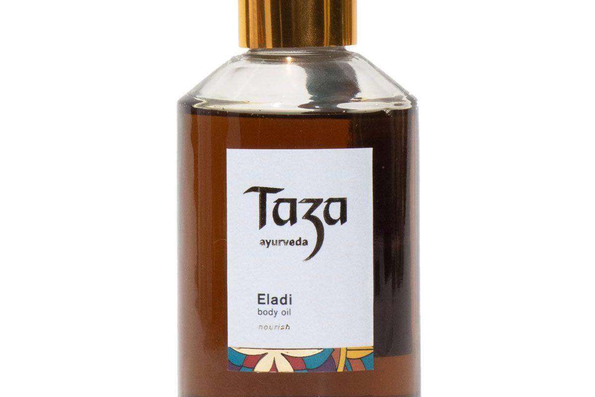 taza ayurveda nourish eladi body oil