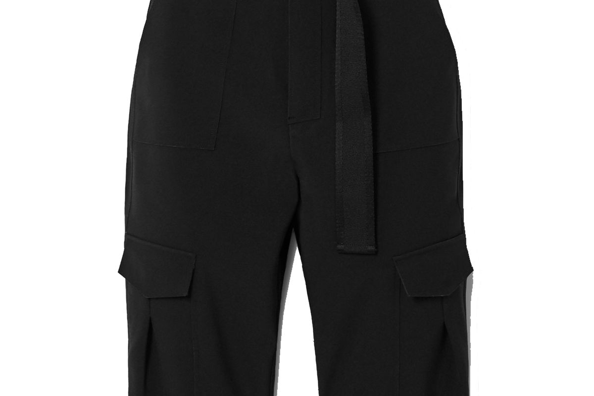 holzweiler oter belted twill shorts