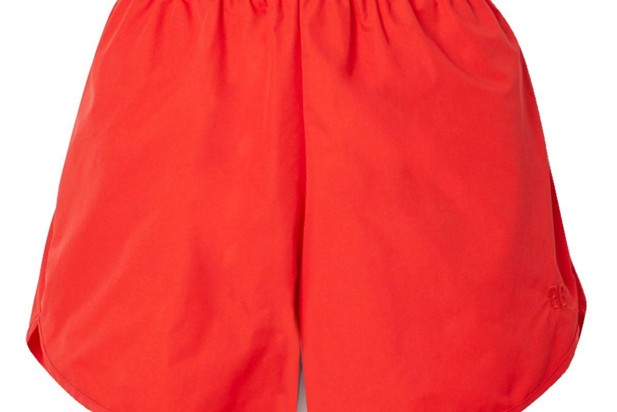 balenciaga shell shorts