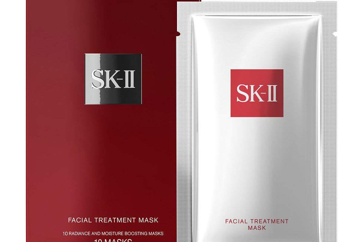 sk ii facial treatment mask 10 sheets