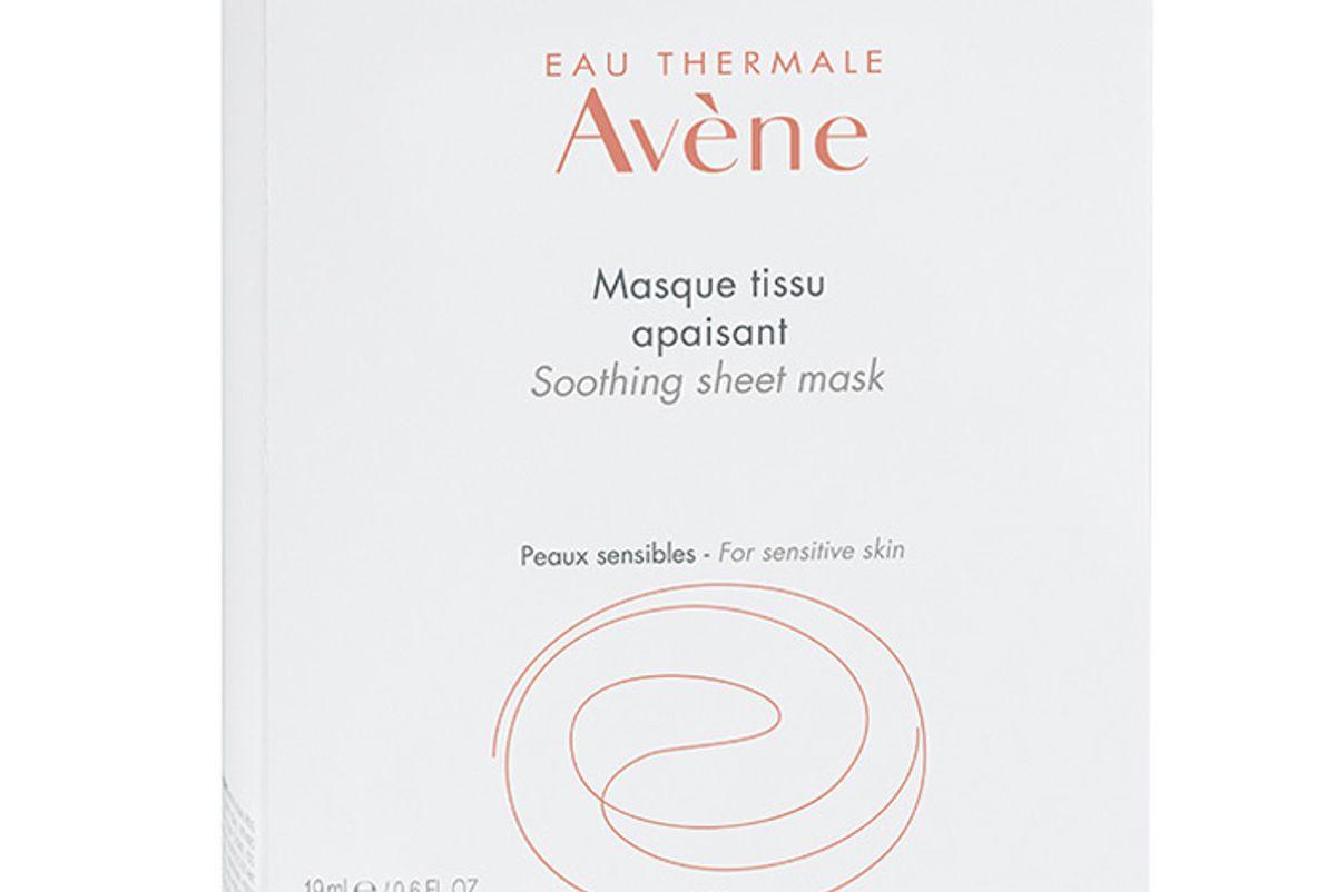 avene soothing sheet mask 5 count