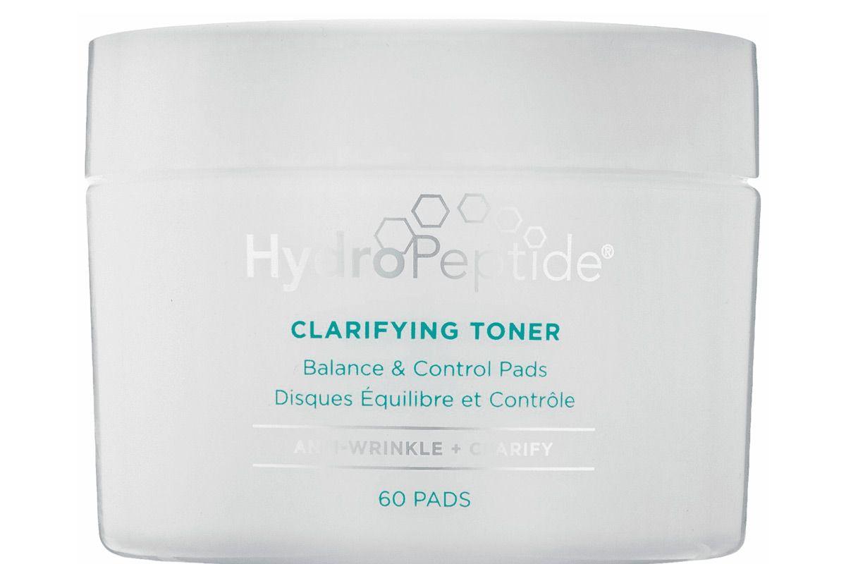 hydropeptide clarifying toner balance control pads