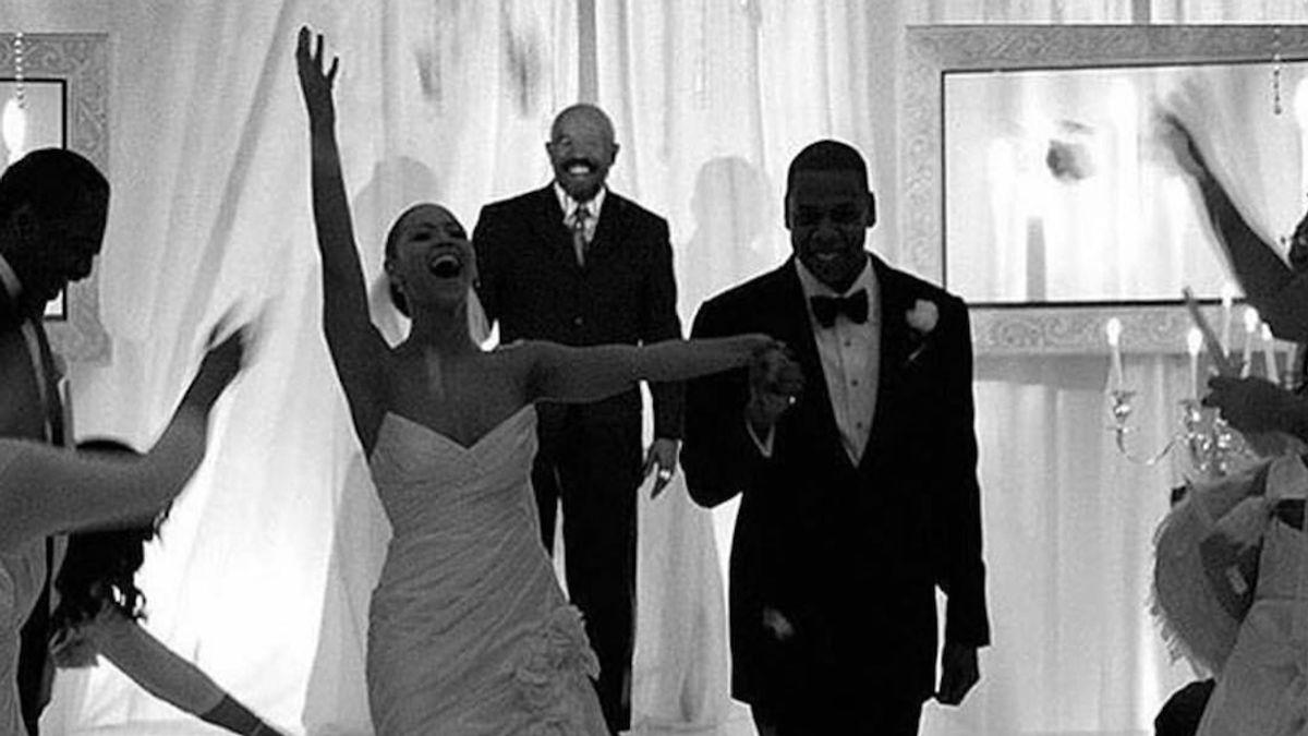 Beyoncé's Wedding Dress Wasn't Very Beyoncé
