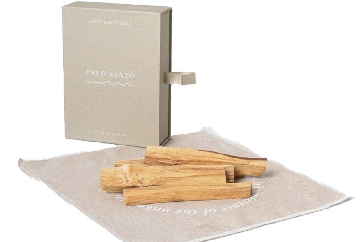 addition studio palo santo incense gift box