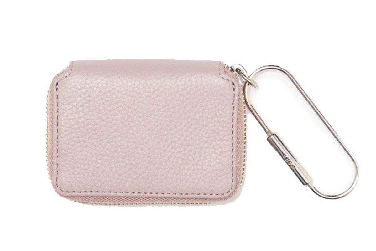 Mauve Small Zip Wallet