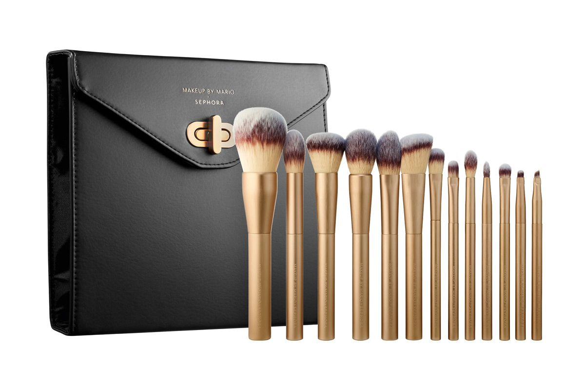 sephora collection makeup by mario x sephora master brush set