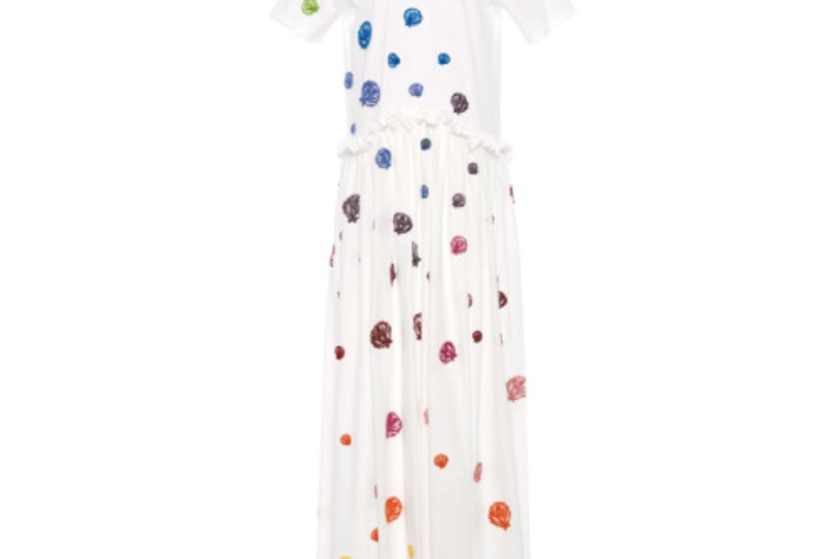 rosie assoulin ebbs and flows dress