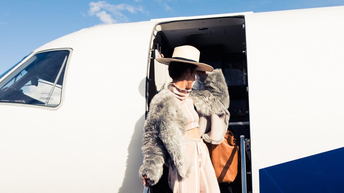 in-flight fashion