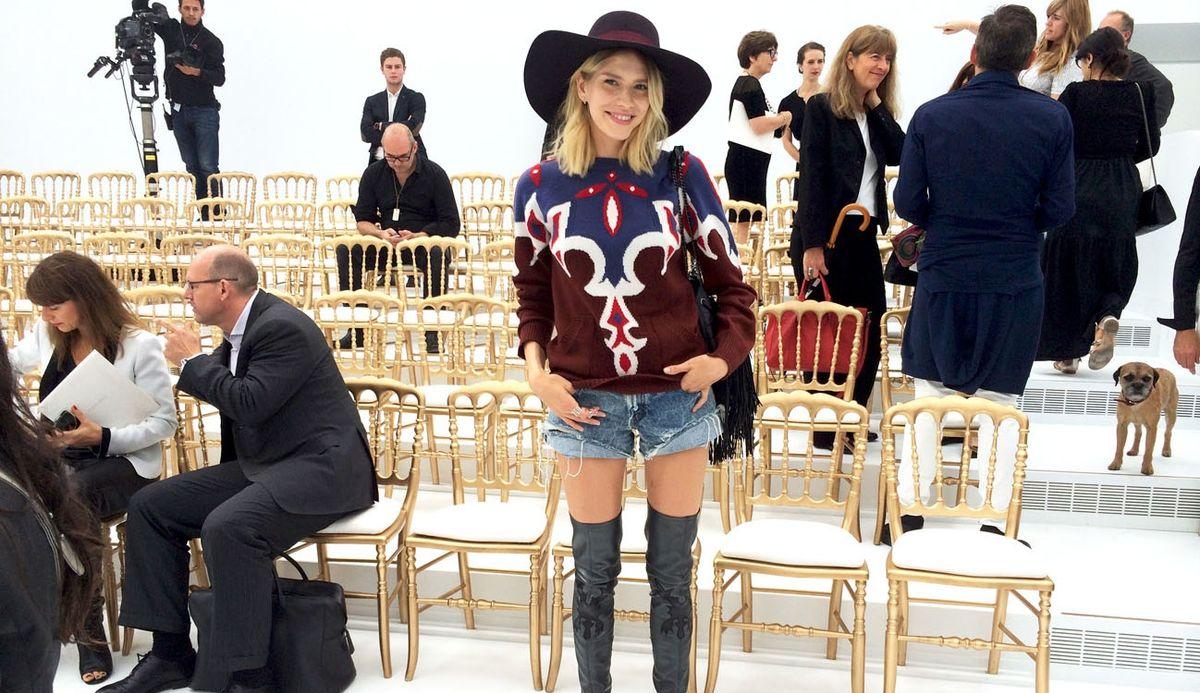 Lena Perminova's Couture Diary